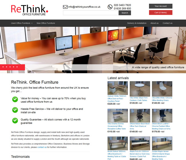 Rethink Office Furniture